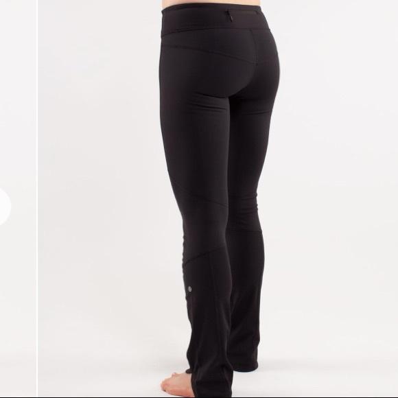 2a1ff8df71 lululemon athletica Pants | Lululemon Run Chase Me Pant Black Size 4 ...